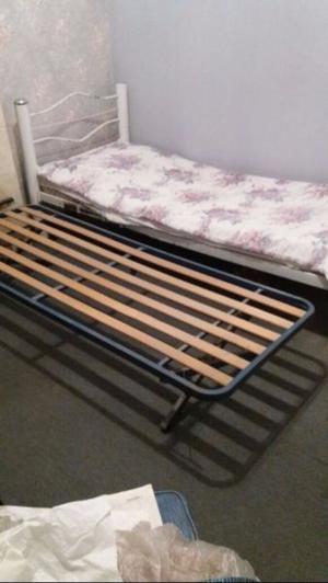 cama con carrito