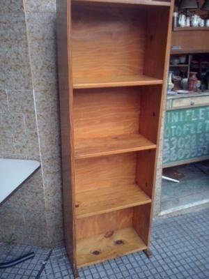 Biblioteca madera maciza posot class - Estanteria madera maciza ...