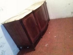 mueble antiguo baliut con marmol