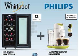 Combo Whirlpool Cava Wzc12a + Senseo Hd Rdo
