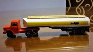 Majorette Camion Sisterna Agip Impecable