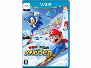 Mario y Sonic en los Juegos Olimpicos Sochi  Version EUR