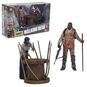 The Walking Dead Morgan & Spike Tramp Mcfarlane