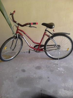 bicicleta playera de mujer