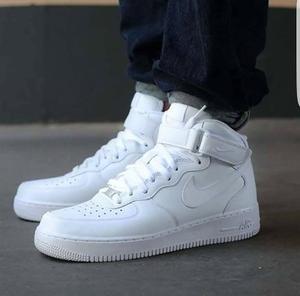 zapatillas air max blancas