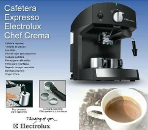 Cafetera Chef Crema