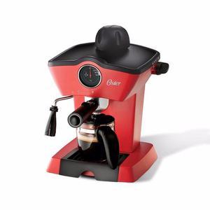 Cafetera De Vapor Para Espresso Y Capuccino Oster® Roja
