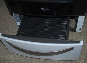 Cocina Whirlpool Wfb56b... muy buena, luz, horno
