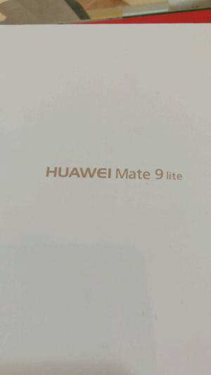 Huawei mate 9 Lite nuevo en caja con.accesorios y garantia