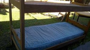 OPORTUNIDAD: Vendo cama marinera y cama de una plaza en