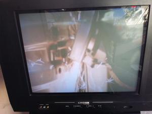 Televisor CROWN mustang pantalla plana de 21 pulgadas