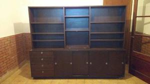 Aparador Biblioteca Modular Mueble P / Living