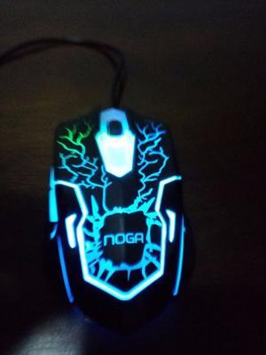 Mouse Gamer - Con LEDs de colores NOGANET