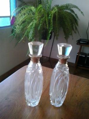 perfumeros de cristal $680