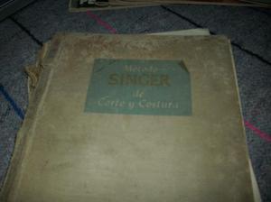 vendo antiguo libro de singer