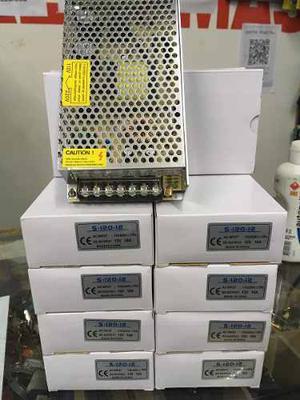 Fuente 12v 10 Amp Regulable. Nuevas En Caja. Camaras Led