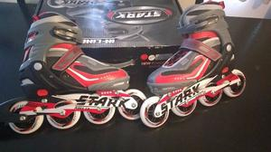 Rollers Stark Extensibles Aluminio Abec 13 New