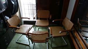 Comedor con sillas capital federal y gba posot class for Sillas cromadas