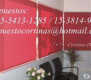 fabricantes Cortinas rollers