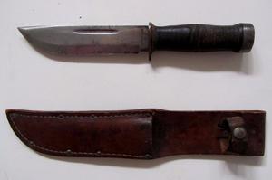 Cattauraugus 225q Cuchillo Combate 2da Guerra Mundial Bowie