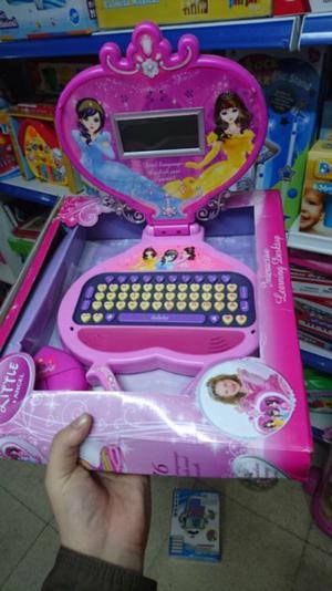 Computadoras didactica princesa