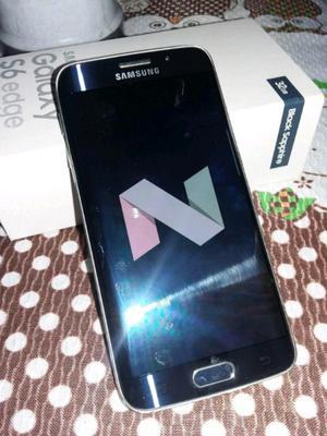 Samsung S6 edge libre impecable Android 7.0 vendo permuto