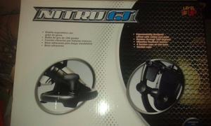 VENDO VOLANTE NITRO-GT MARCA LEVELUP PARA PS2 PS3 PC NUEVO