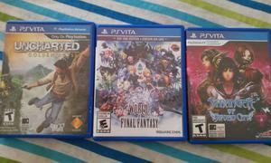 World of final fantasy Stranger of sword city uncharted ps
