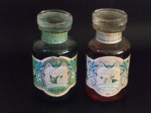Antiguos frascos de Espuma de Baño Marta Harff