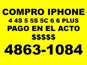 EN EL ACTO Compro iphones 5 6 y 7 llamar  no