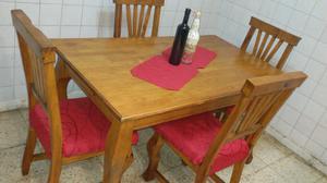 Mesa mas 4 sillas con envio incluido!