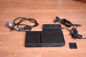 Playstation 2 Chipeada + Alfombra De Baile + Juegos