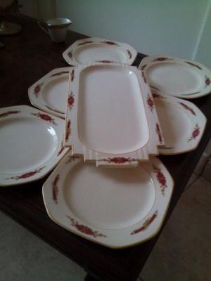 Compro vajilla porcelana losa inglesa verbano posot class for Vajilla porcelana