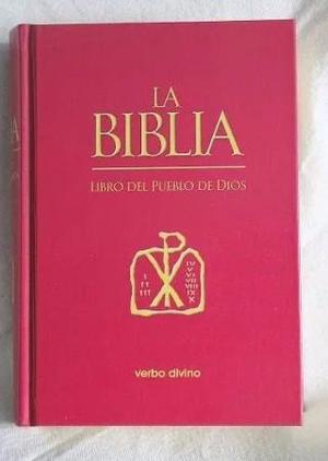 Biblia Del Pueblo De Dios+ Funda De Cuero De Oveja