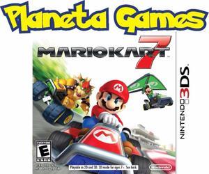 Mario Kart 7 Nintendo 3ds Fisicos Nuevos Caja Cerrada