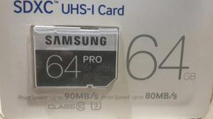 Samsung Sdxc Uhs-i Card Pro 64gb