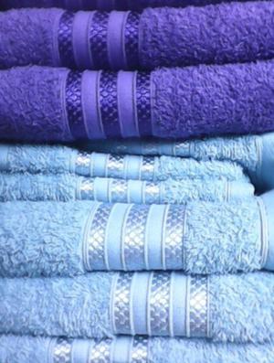 Juego de toallas de excelente calidad