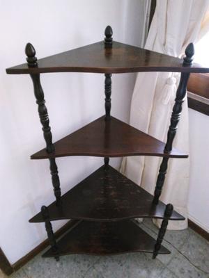 Mueble esquinero de madera