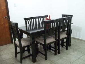 Nuevo !! Mesa y 6 sillas Flete sin cargo !! Escucho ofertas