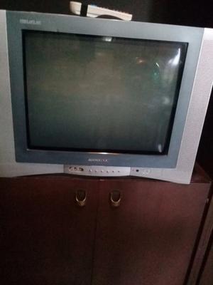televisor color 21 pulgadas con control remoto