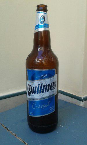 Botellas Vacias De Cerveza Quilmes