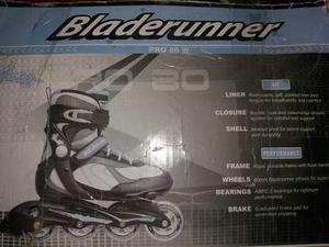 Rollers Talle  Bladerunner Pro 80w (poco Uso)