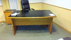 Mueble en melamina negra retiro posot class for Sillones escritorios oficina