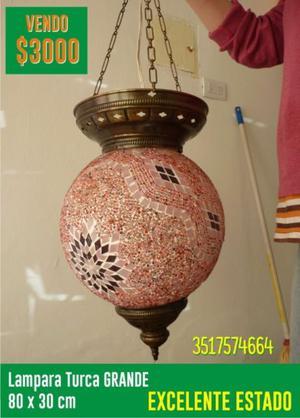 Lampara Turca Gde Hermosa!! excelente precio!