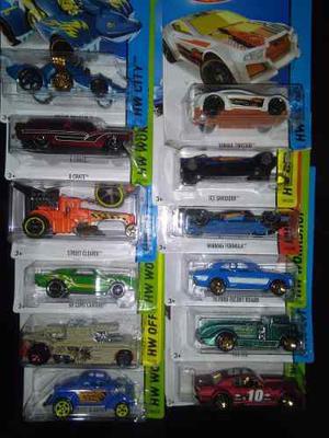 Autitos Hot Wheels Lote X12