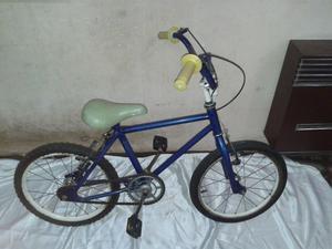 Bicicleta Rodado 16 Color Azul Para Niño/a En Buen Estado