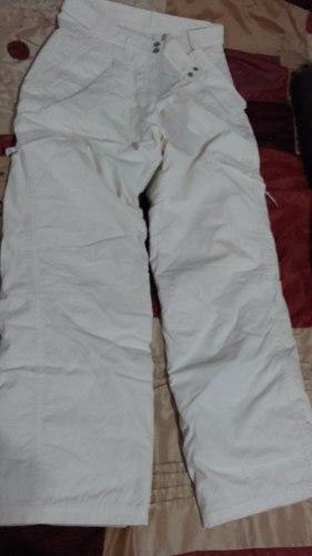 Pantalon Mujer Impermeable Ski Usado Talle 42
