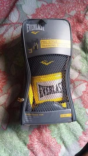 Vendo guantes de boxeo everlast profesionales