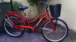 bicicleta de paseo monterbike lista para usar rodado 26