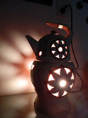 lampara antigua artesanal